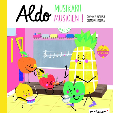 """""""Aldo musikari!"""" liburuaren aurkezpena"""