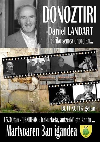 Daniel Landart - Herriko semea ohoretan