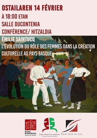 Emazteen eraginaren bilakaera Euskal Herriko kultura sorkuntzan