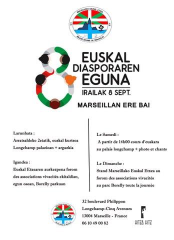 Euskal diasporaren eguna Marseillan