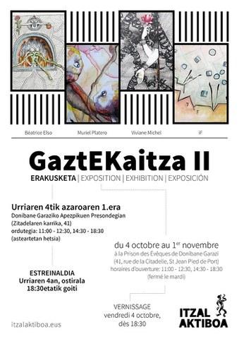"""""""GaztEKaitza II"""" erakusketa"""