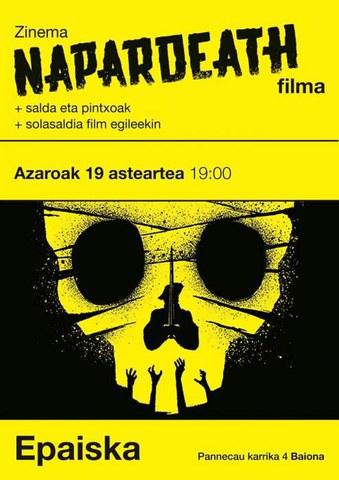 """""""Napardeath"""" filma"""