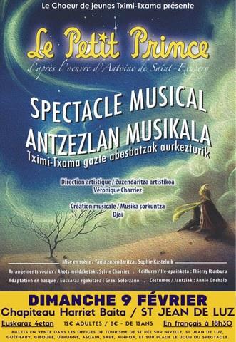 """Printze ttikia"" antzezlan musikala"