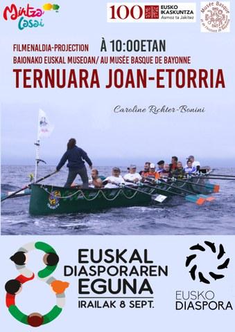 """Ternuara joan-etorria"" filma"