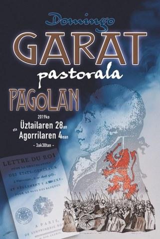 """""""Uztaritzeko Domingo Garat"""" pastorala"""