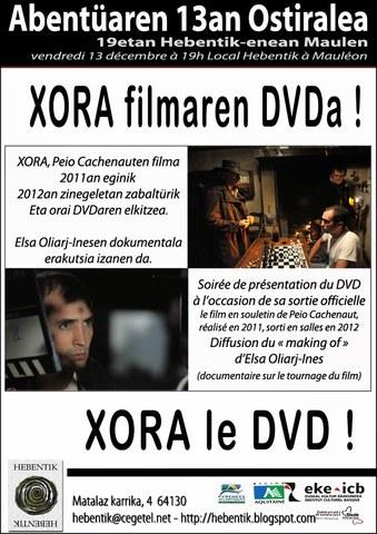 """""""Xora"""" filma - DVD-aren aurkezpena"""