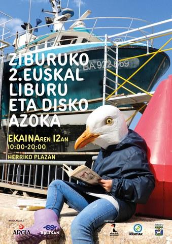 Ziburuko 2. Euskal Liburu eta Disko Azoka