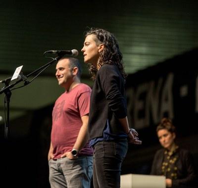The Basque Country improvisation championship. 2017. (CC-BY-SA - Dani Blanco, Argia.eus)