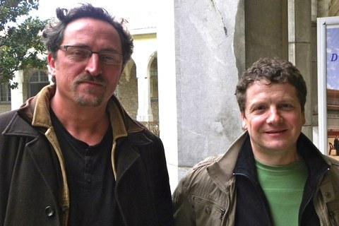 Joël Merah and Peio Çabalette