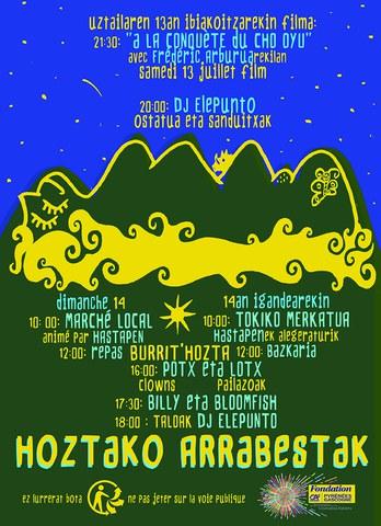 Bunuztar Xoriak - Hastapen taldea - Potx eta Lotx - Billy & Bloomfish - DJ Elepunto