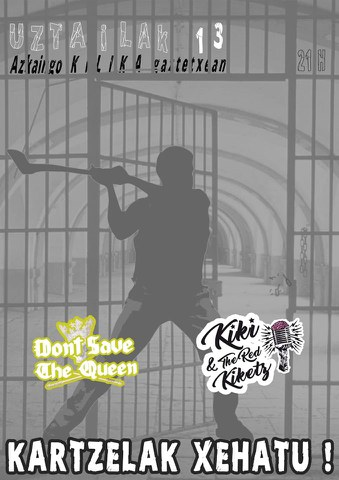 Don't Save The Queen + Kiki & The Red Kiketz