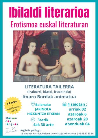 Erotismoa euskal literaturan