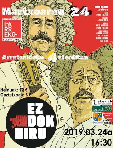 """Ez dok hiru """"Euskal musikaren benetako istorioa"""""""