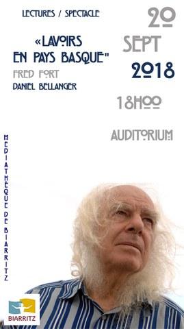 "Fred Fort + Daniel Bellanger ""Euskal Herriko Latsagiak"""