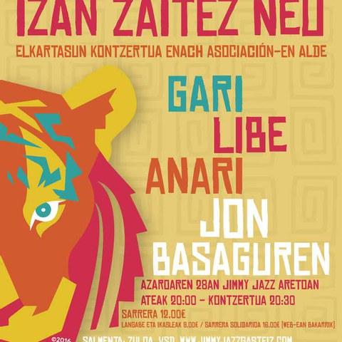 """Gari + Libe + Anari + Jon Basaguren: """"Izan zaitez neu"""""""