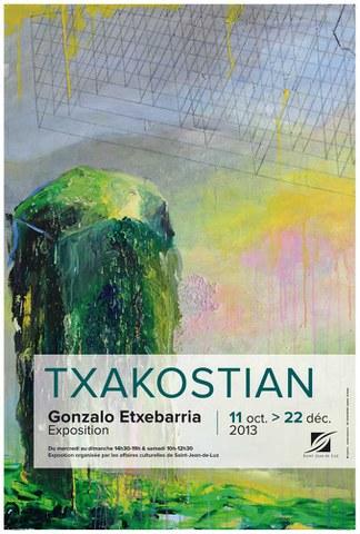 """Gonzalo Etxebarria """"Txakostian"""""""
