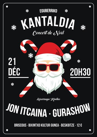 Leizarraga Kantuz + Jon Itçaina + Gurashow