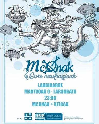 Mc Onak + Xitoak