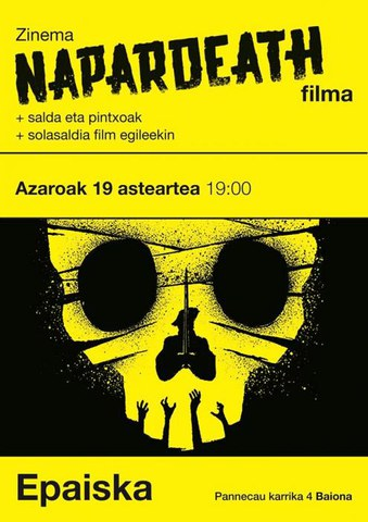"""Napardeath"" filma"