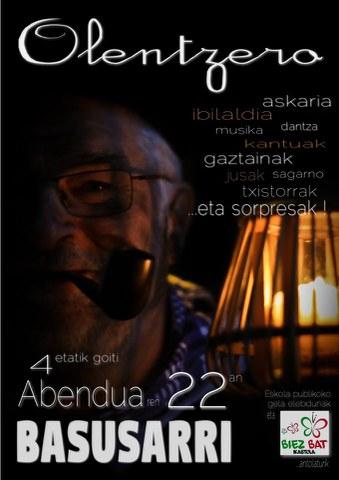 Olentzero Basusarrin