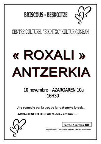 """Roxali"" antzezlana"