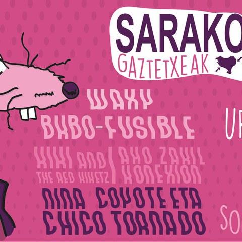 Sarako Gaztetxeak 30 urte