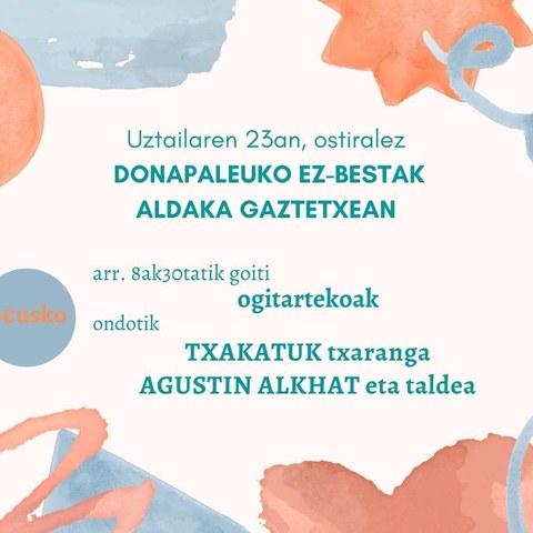 Txakatuk + Aguxtin Alkhat