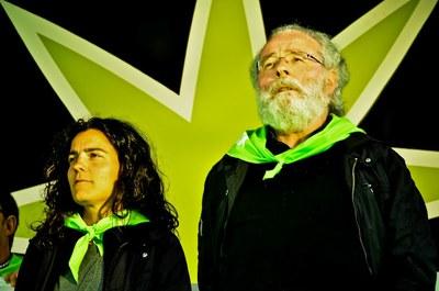 Maialen Lujanbio y Xabier Amuriza (cc by-sa Roberto Awa Nari)