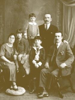 La familia Lako - Argentina, 1929