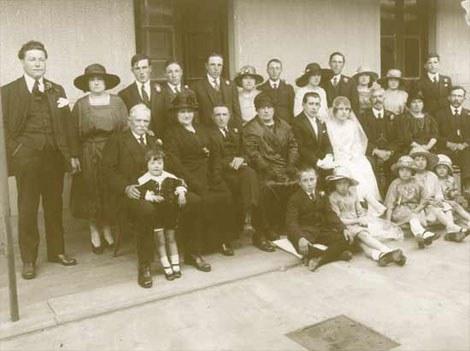 Boda, Argentina, principios del siglo XX, colección particular