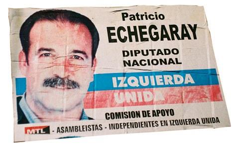 Poster electoral - Fotografía: Kepa Etchandy
