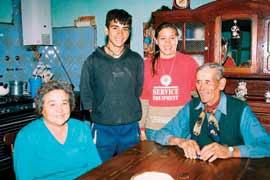Familia de agricultores, Trenque Lauquen, provincia de Buenos Aires