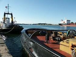El puerto de Baiona