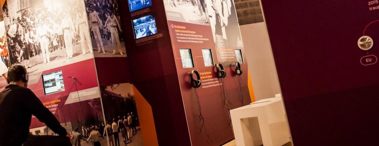 UNA EXPOSICIÓN ITINERANTE (2015-2019)