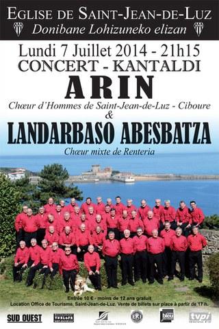 Arin korua - Landarbaso abesbatza