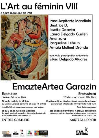 EmazteArtea Garazin - L'Art au féminin VIII