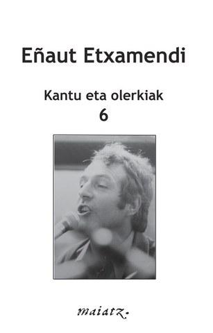 """Eñaut Etxamendi """"Kantu eta olerkiak"""""""