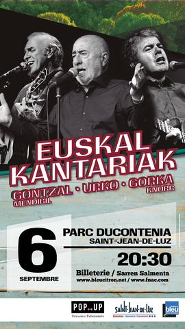 Gontzal Mendibil + Urko + Gorka Knörr