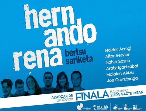 Hernandorena bertsu sariketa - Finala