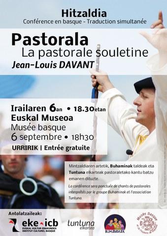 """Jean Louis Davant - """"René Cassin"""" pastoralaz"""