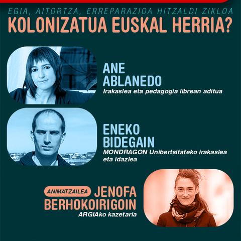 Kolonizatua Euskal Herria?