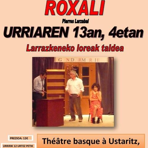 """Larrazkeneko Loreak """"Roxali"""""""