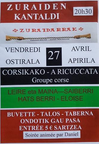 Leire eta Maina - Hats Berri - Saiberri - A Ricuccata