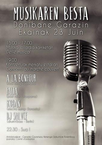 Musikaren Besta Donibane Garazin