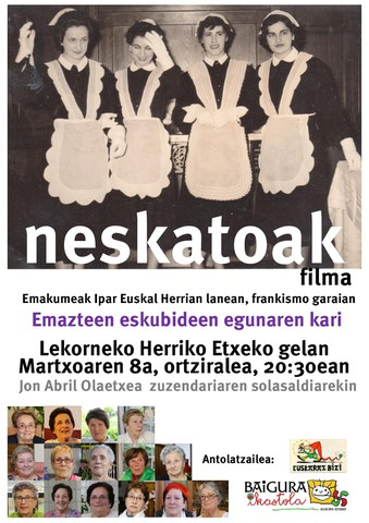 """Neskatoak"" dokumentala"