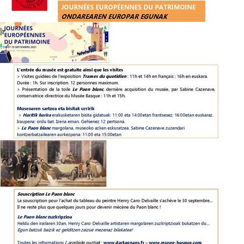 Ondarearen Europar Egunak Euskal Museoan