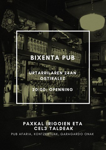 Paxkal Irigoien + Cel3