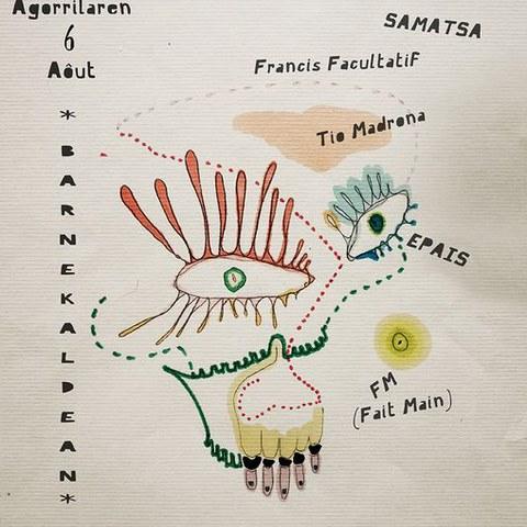 Samatsa + Francis Facultatif + Tio Madrona + Epais + Fait Main