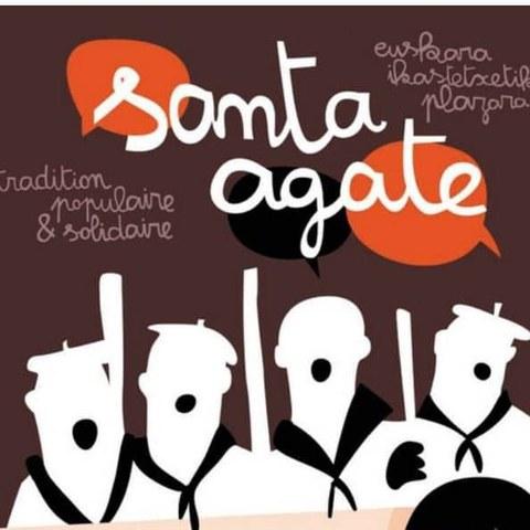 Santa Agate