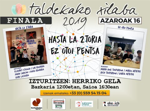 Taldekako Xilaba 2019 - Finala